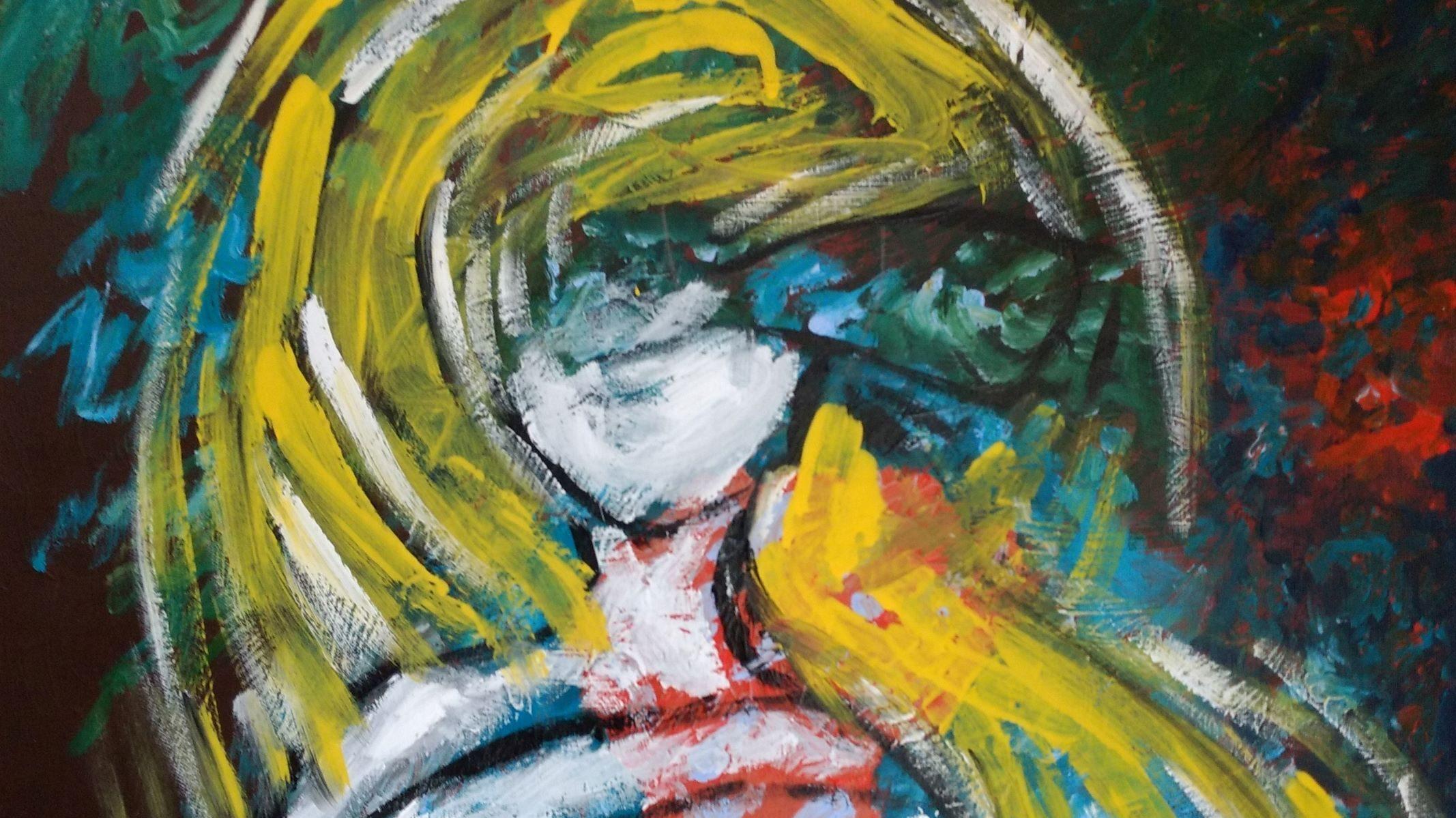 """Ausstellung Big Voeste """"Meine Kraft der Seelenfarben"""""""