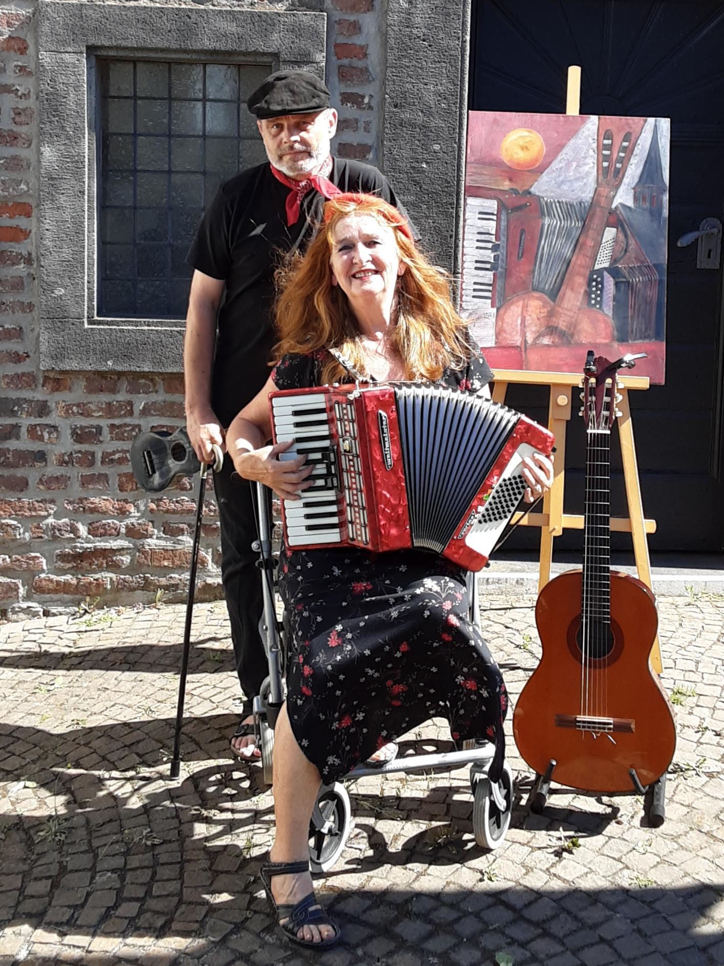Liedermacher-Duo Irmgard Maria Jansen Otto & Wojtek Ryszard Tyc