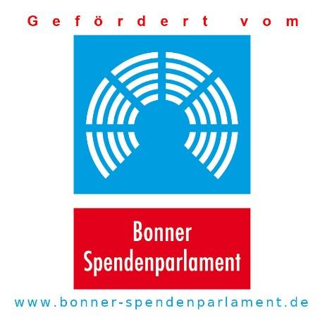 Das Bonner Spendenparlament unterstützt unseren Projektantrag!