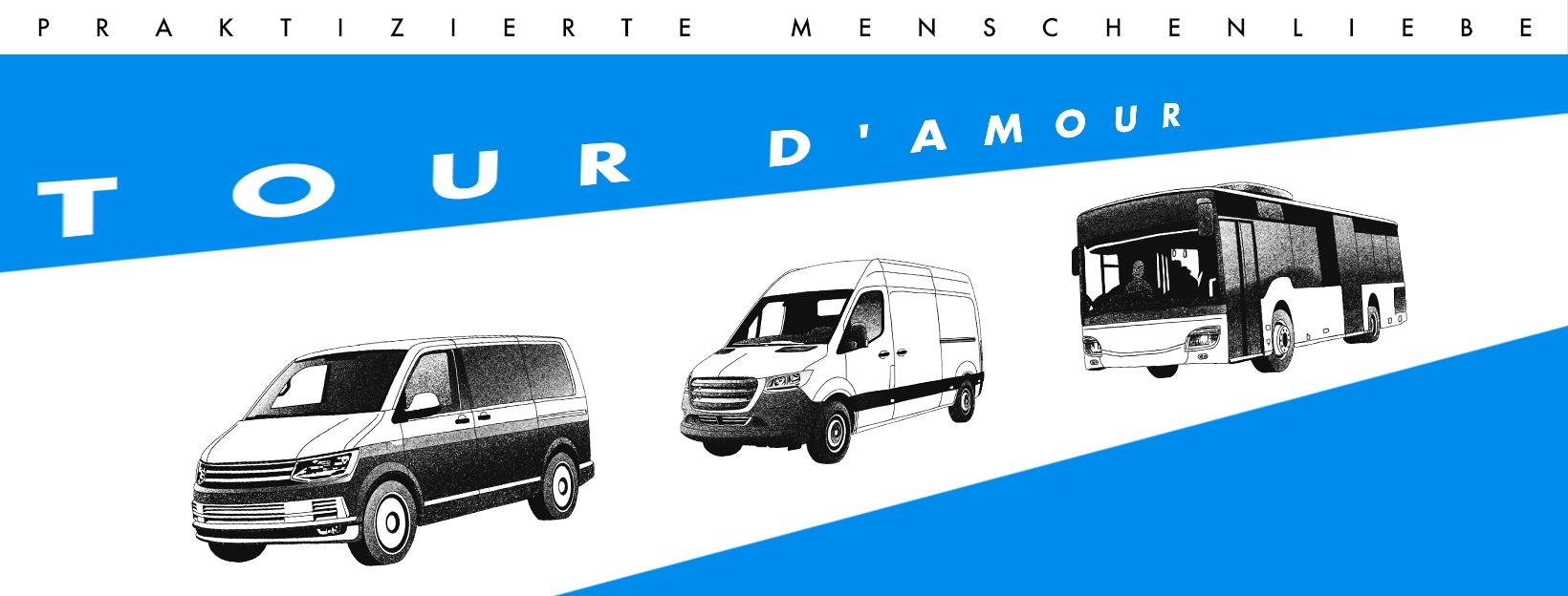 KULT41 macht mit bei der TOUR D'AMOUR! …Kommt spenden!